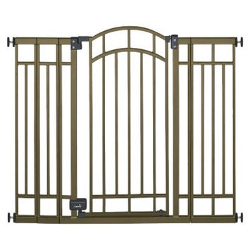 Summer Infant Multi-Use Bronze Deco Extra Tall Walk-Thru Gate