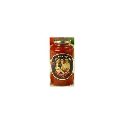 Mom's Pasta Sauce Organic Traditional Tomato & Basil Sauce 24 oz. (Pack of 6)