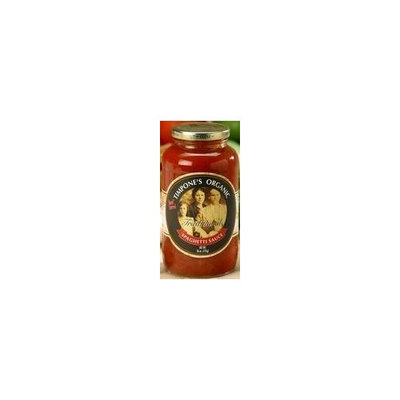 Mom's Pasta Sauce Organic Traditional Tomato & Basil Sauce 24 oz. (Pack of 6)