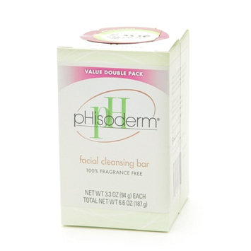 Phisoderm Value Double Pack Facial Cleansing Bars