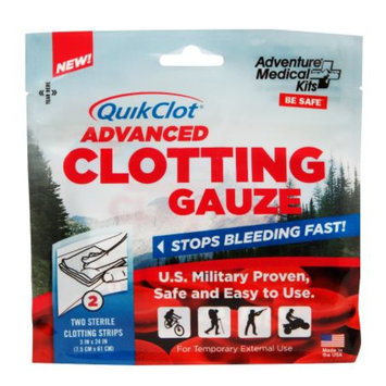 QuikClot Advanced Clotting Gauze, 3 x 24 Inch, 2 ea