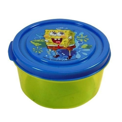 Spongebob Squarepants Spongebob Snack N Store Food Storage Container