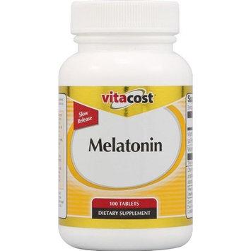 Vitacost Brand Vitacost Melatonin Slow Release -- 5 mg - 100 Tablets