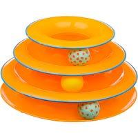 Petstages Tower Of Tracks Cat Toy Orange 317