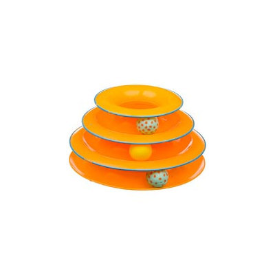 Petstages Tower Of Tracks Cat Toy Orange 317