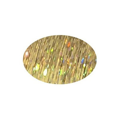 Piz-zaz Hair Glimmer Piz-zaz Hot Champagne Hair Extension Shimmer Tinsel + Hairart Brilliance Pin Tail Comb Add Shimmer and Glam to Your Hair That Last 10-12 Weeks