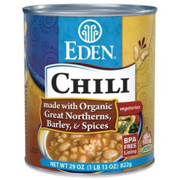 Eden Organic EDEN Chili - Great Northern & Barley, 29 Ounce (Pack of 6)