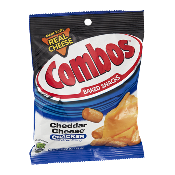 Combos Baked Snacks Cheddar Cheese Cracker
