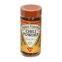 Spice Garden Chili Powder, 2-Ounce Jar (Pack of 6)