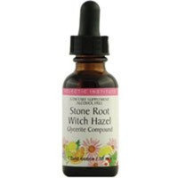 Eclectic Institute Inc Stone Root Witch Hazel, 1 Oz Alcohol free (Pack of 4)