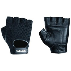 Valeo, Inc. Valeo Leather Lifting Gloves, Black, Men's Small (7 - 8), Pair