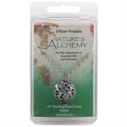 tures Alchemy Diffuser Pendant Necklace, Oriental Dome, 1 pc, Nature's Alchemy