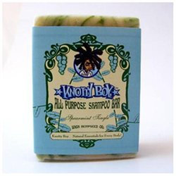 Knotty Boy All Purpose Shampoo Bar - Citrus Ginger 115g