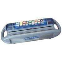 San Jamar SW1218 Safety Wrap Station- Film, Foil, and Label Dispenser