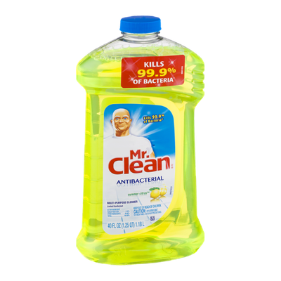 Mr. Clean Antibacterial Multi-Purpose Cleaner Summer Citrus