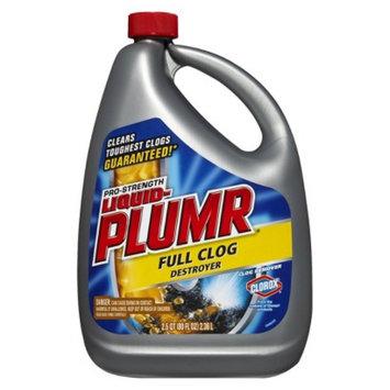 Clorox Liquid-Plumr Power Gel Clog Remover 80 oz