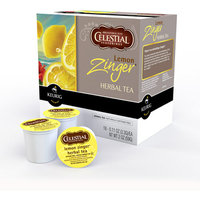 Green Mountain Celestial Lemon Zinger K-Cups Herbal Tea