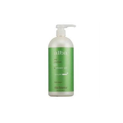 Alba Botanica Natural Very Emollient Bath & Shower Gel - Sparkling Mint