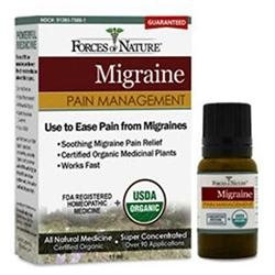 Forces of Nature Organic Migrane Pain Management 11 ml