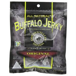Golden Valley Natural Buffalo Jerky, Original, 3 oz