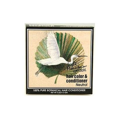 Light Mountain Natural - Hair Color & Conditioner Kit Neutral - 4 oz.