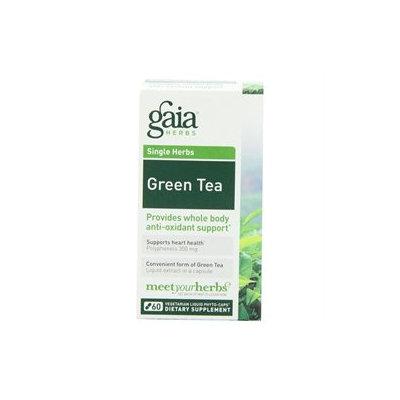 Gaia Herbs Green Tea, Liquid-Filled Capsules