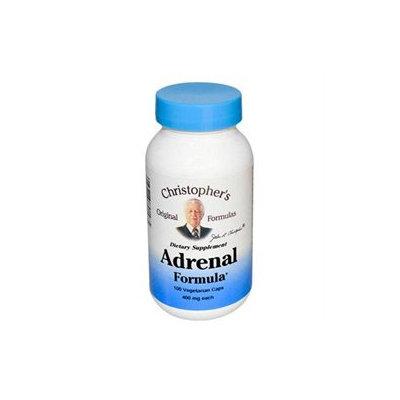 Dr.christopher's Formulas Dr. Christopher's Original Formulas - Adrenal Formula - 100 Vegetarian Capsules