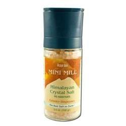 Himalayan Salt 0654202 Aloha Bay Mini Mill Crystal Salt With Grinder - 3.5 oz
