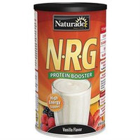 NRG Protein Powder Vanilla Unsweetened 16 oz from Naturade