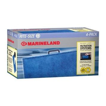 Marineland PA0024-04 BIO-Wheel Canopy Cartridge, Rite-Size Cartridge, 4-Pack