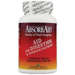 Nature's Source Absorb Aid - 90 Veggie Caps - Enzymes
