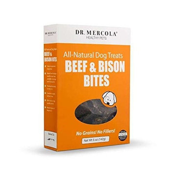 Beef and Bison Bites for Dogs by Mercola - 5 oz