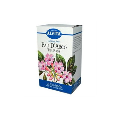 Alvita Pau D' Arco Tea Bags, 24 ct