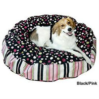 Happy Hounds Scout Round Dog Bed Large Crimson