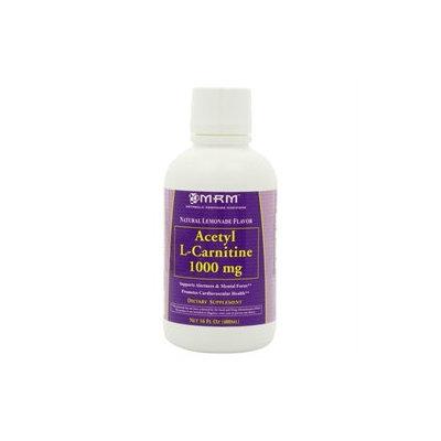 MRM Liquid Acetyl L-Carnitine Natural Lemonade - 1000 mg - 16 fl oz