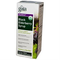 Gaia Herbs Rapid Relief Black Elderberry Syrup