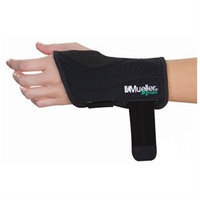 Mueller Green Fitted Wrist Brace, Large/X-Large Left