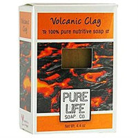 Pure Life - Volcanic Clay Bar Soap - 4.4 oz.
