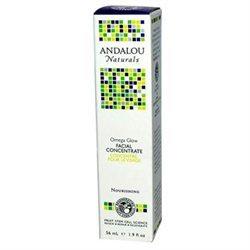 Andalou Naturals - Facial Concentrate Nourishing Omega Glow - 1.9 oz.