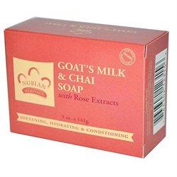 Nubian Heritage Goat's Milk Chai Bar Soap