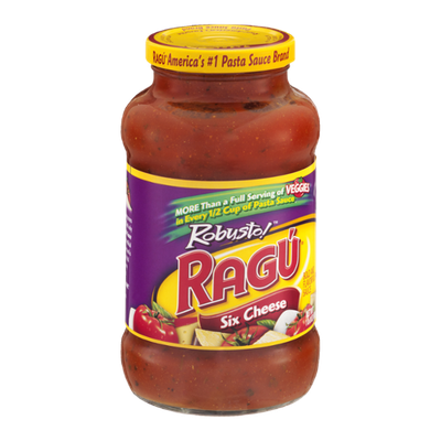 Ragu Robusto! Six Cheese Pasta Sauce