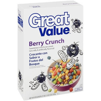 Great Value: Berry Crunch Cereal, 21 Oz