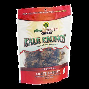 Alive & Radiant Foods Kale Krunch Quite Cheezy Flavor