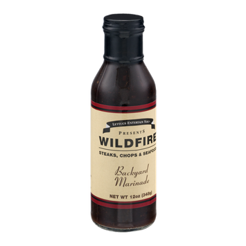 Lettuce Entertain You Presents Wildfire Backyard Marinade for Steaks, Chops & Seafood