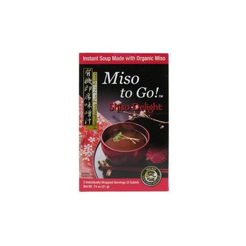 Gold Mine Natural Food Co. Japan Gold Miso to Go, Shiso Delight, 6 Count
