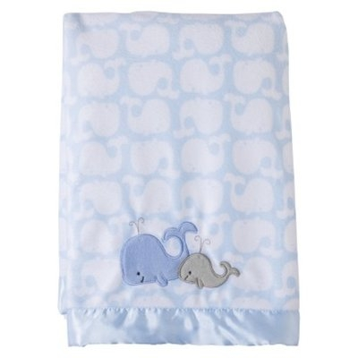 Just One You Made by Carter's Boy 2 Ply Blanket Satin Trim