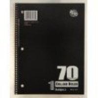Norcom 1 Subject 70 Sheets Notebooks