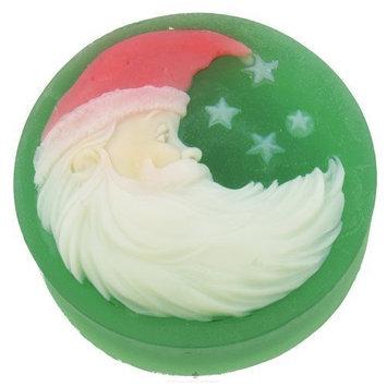 Santa Claus Artisan Soap by Hugo Naturals 4 oz Bar