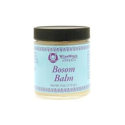 Wise Ways - Bosom Balm - 4 oz. CLEARANCE PRICED