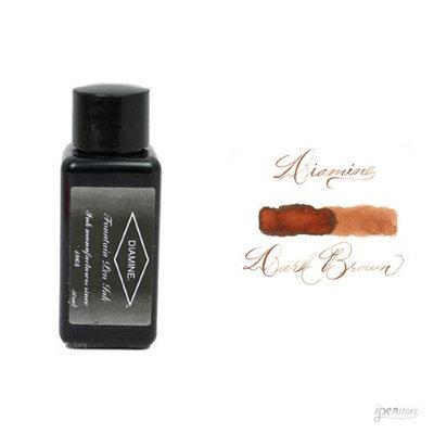 Diamine 30 ml Bottle Fountain Pen Ink, Dark Brown